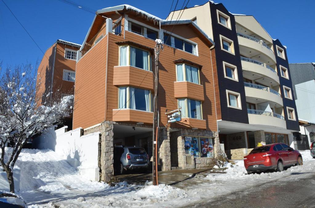 Antu Mahuida Apartments durante el invierno