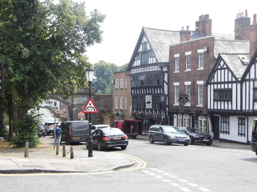 Domus House in Chester, Cheshire, England