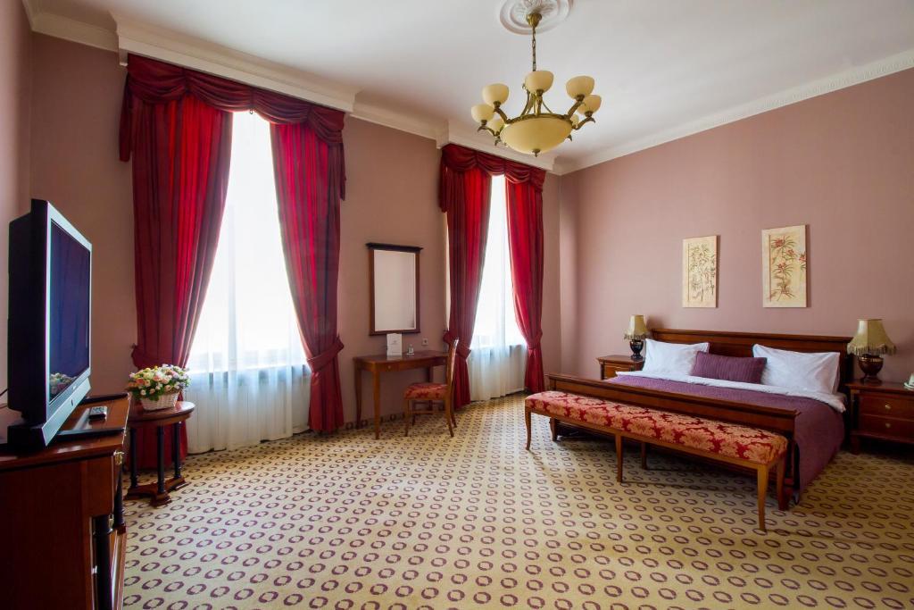 Гостиная зона в Гостиница Будапешт