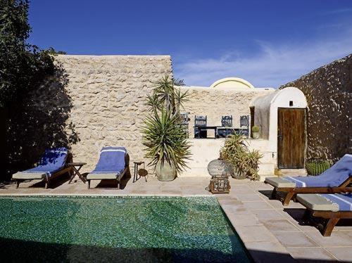 The swimming pool at or near Hotel Dar Dhiafa