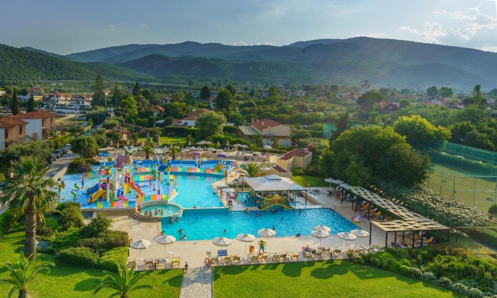 A view of the pool at Cronwell Platamon Resort Ultra All-Inclusive or nearby