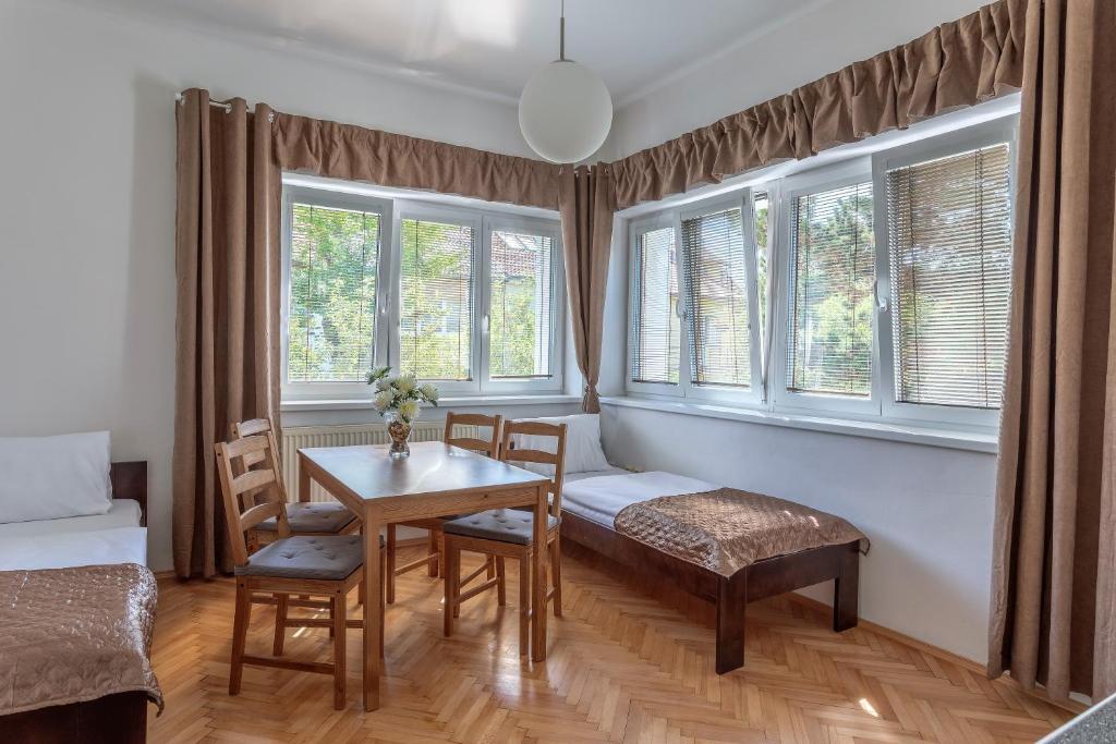 Χώρος καθιστικού στο Green Park Apartments