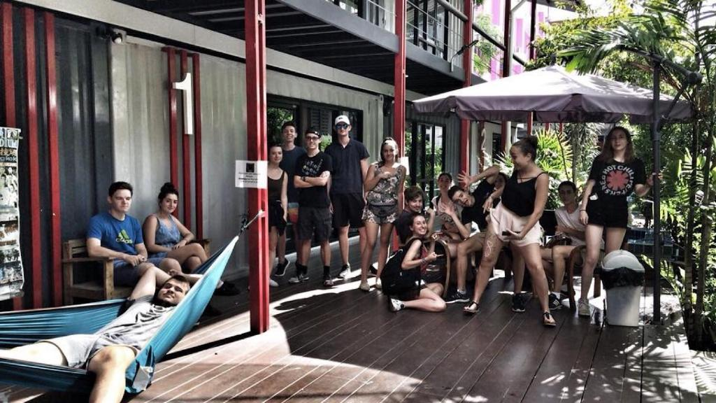Fitnesscentret og/eller fitnessfaciliteterne på @Box Hostel