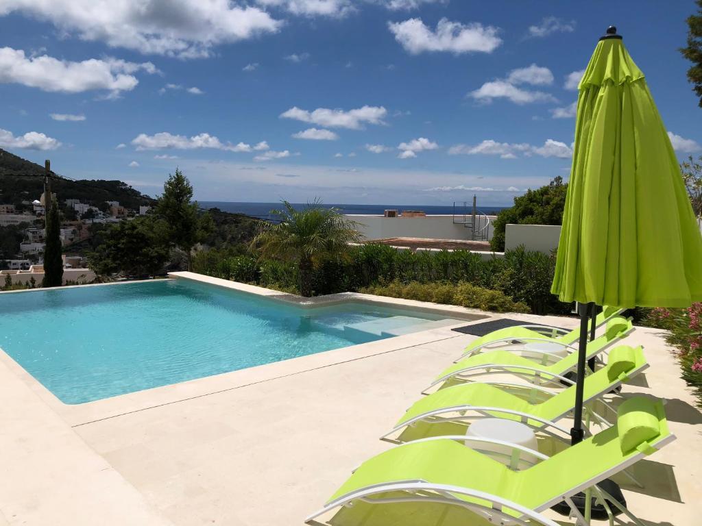 Der Swimmingpool an oder in der Nähe von Es Queixal - Can Canet
