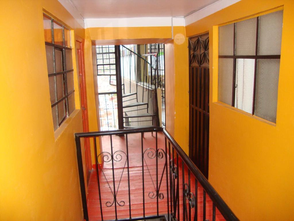 Un balcón o terraza de Casa Hospedaje Leyva