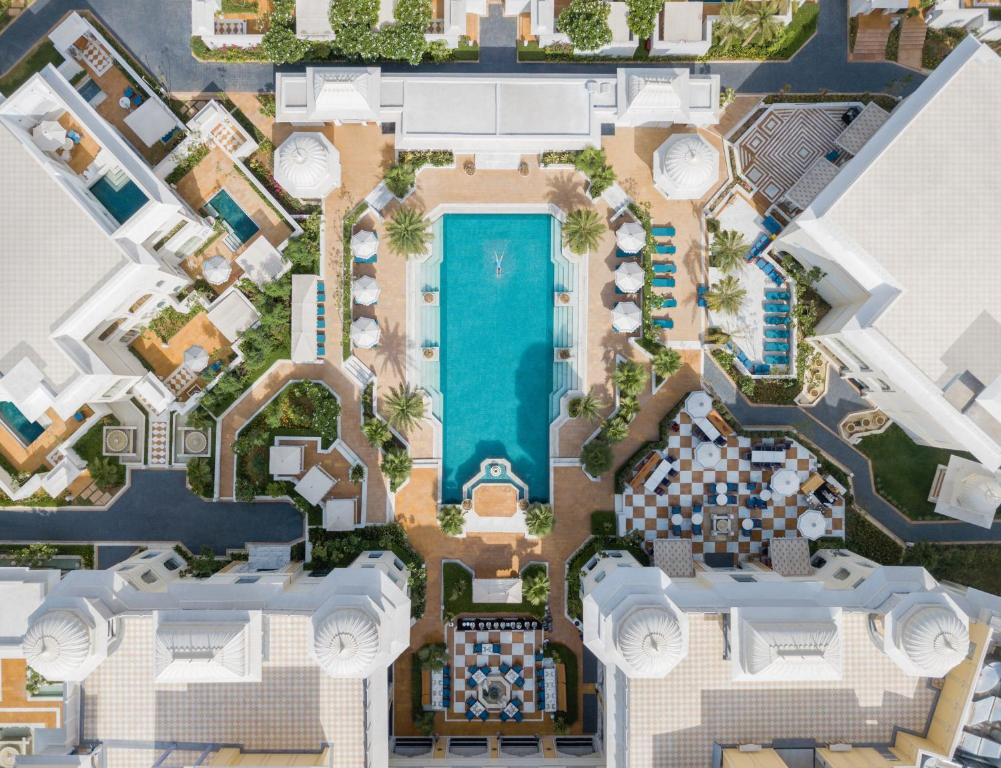 A bird's-eye view of JW Marriott Jaipur Resort & Spa