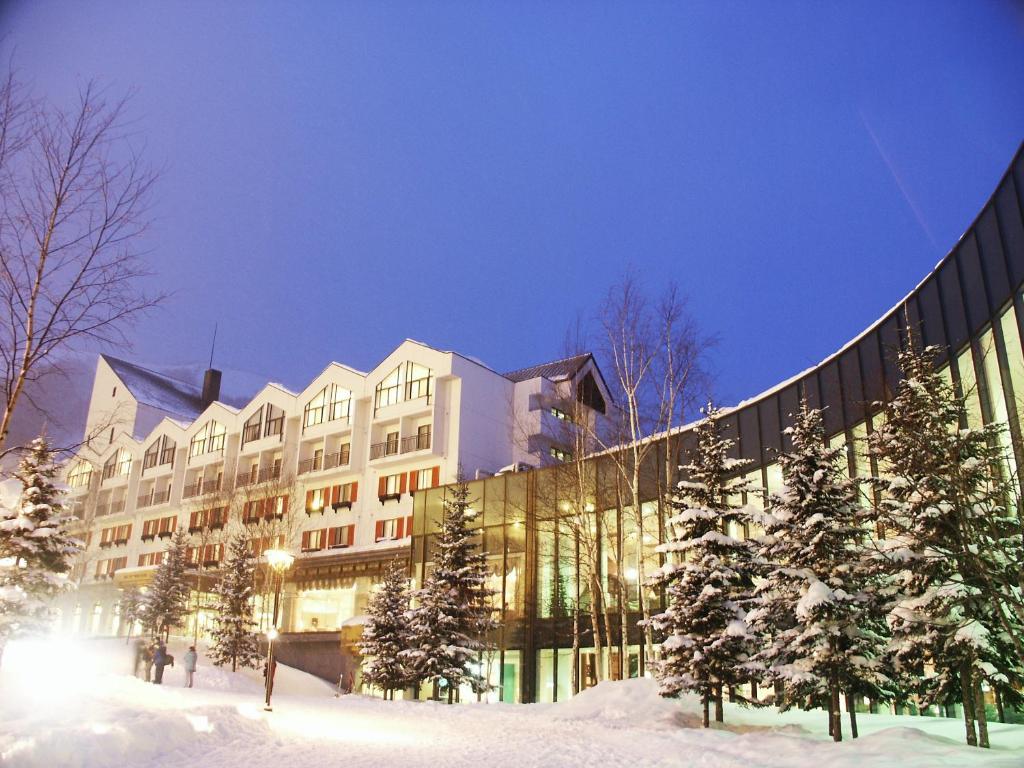 Rusutsu Resort Hotel & Convention during the winter