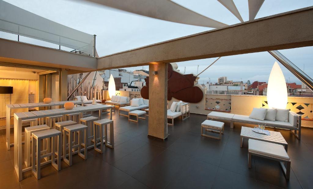 Restaurant o un lloc per menjar a Hotel Constanza
