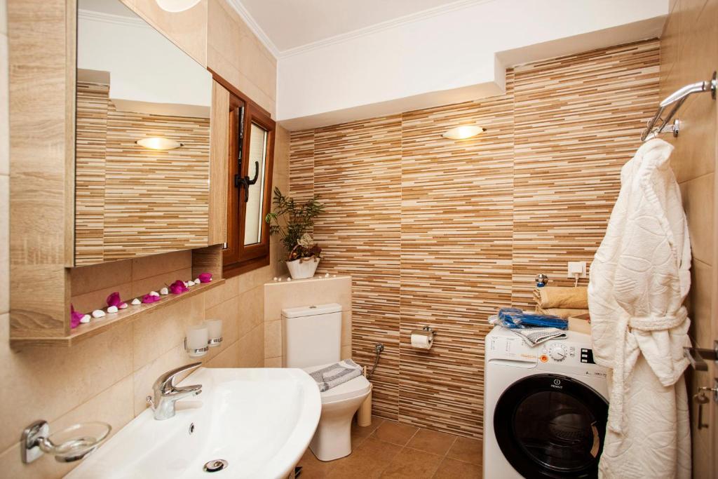 Ett badrum på Afroditi