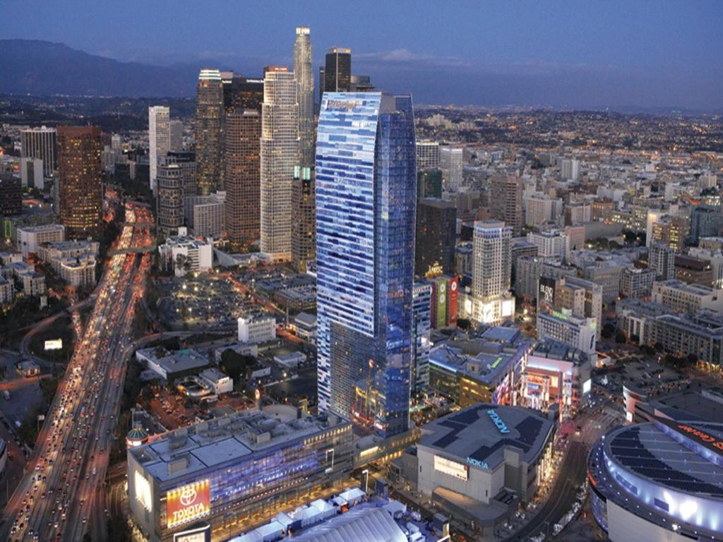 A bird's-eye view of The Ritz-Carlton, Los Angeles L.A. Live