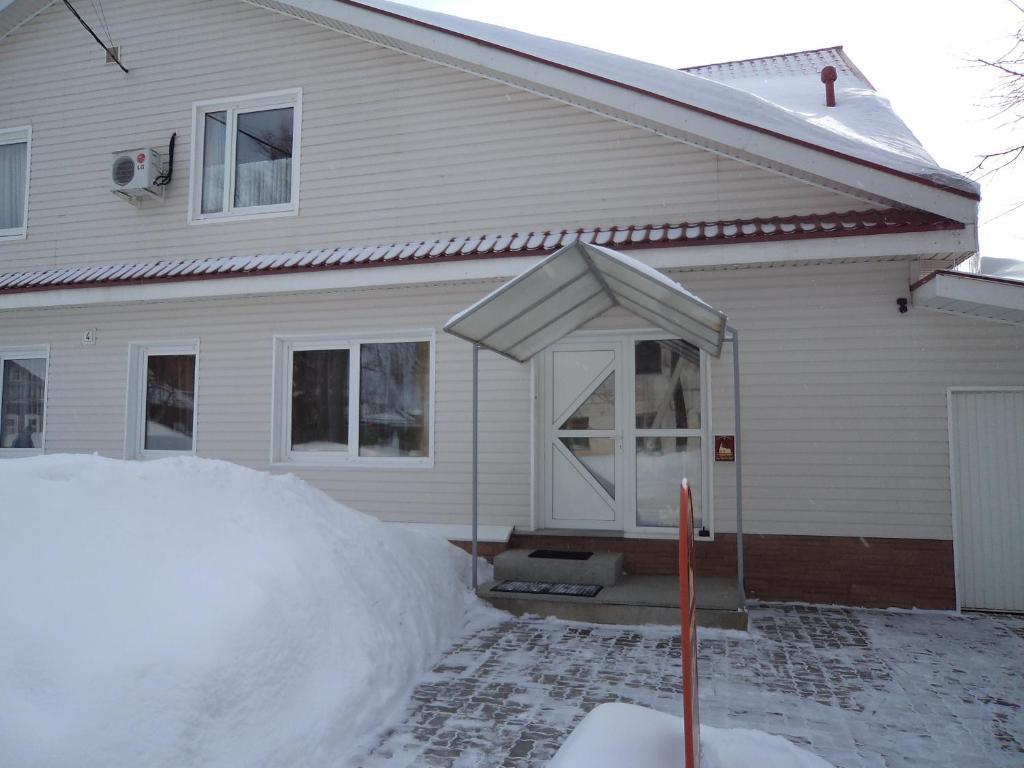 Guest House u Monastyrya during the winter