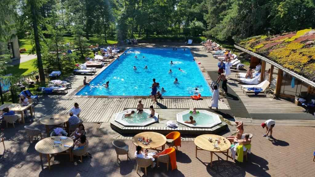 A view of the pool at Skandinavia Country Club and SPA or nearby