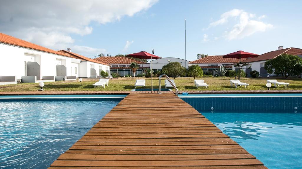 A piscina em ou perto de Hotel Santa Maria