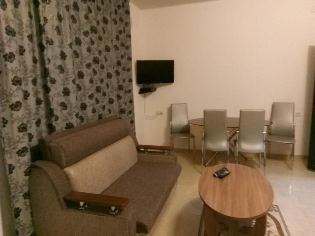 Гостиная зона в Guest House Viktorya
