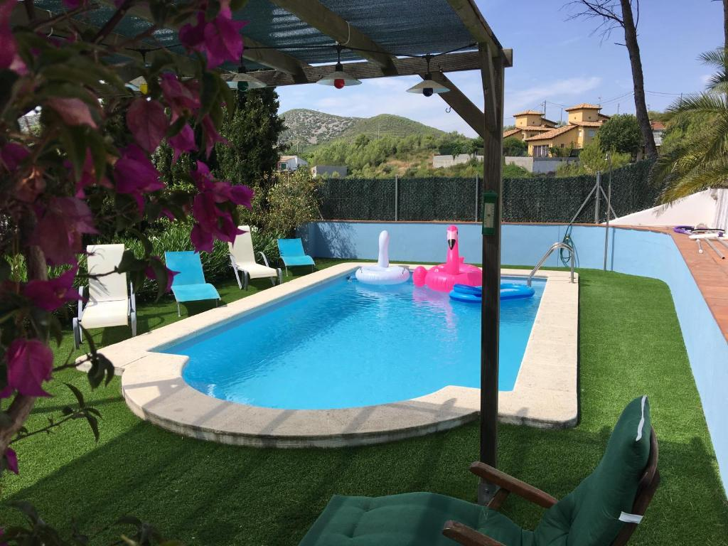 The swimming pool at or near Sitges Villa Apartment