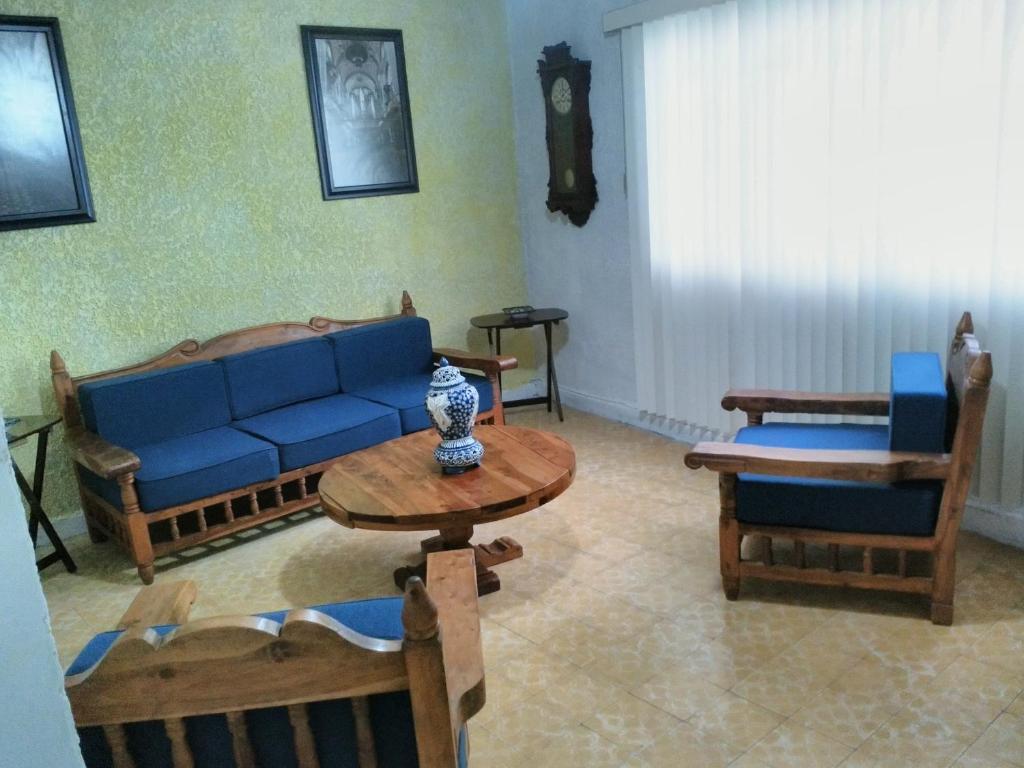 Zona de estar de Departamento 1