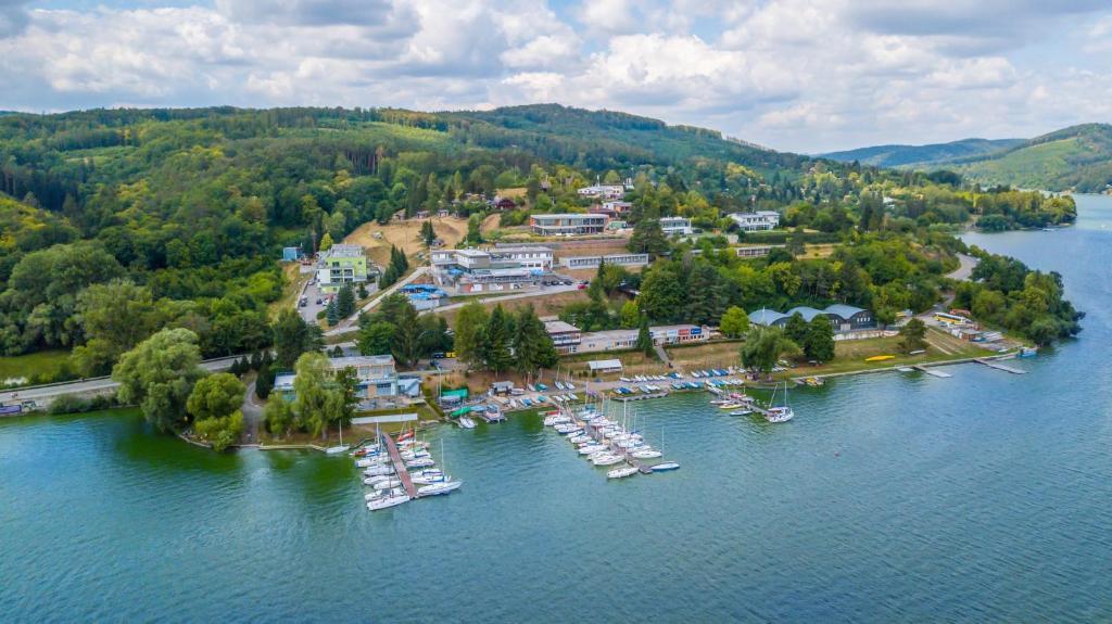 Vista aerea di Hotel Rakovec