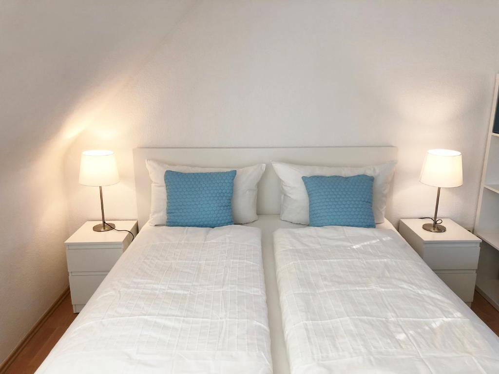 Letto o letti in una camera di Stylish Apartment with Terrace