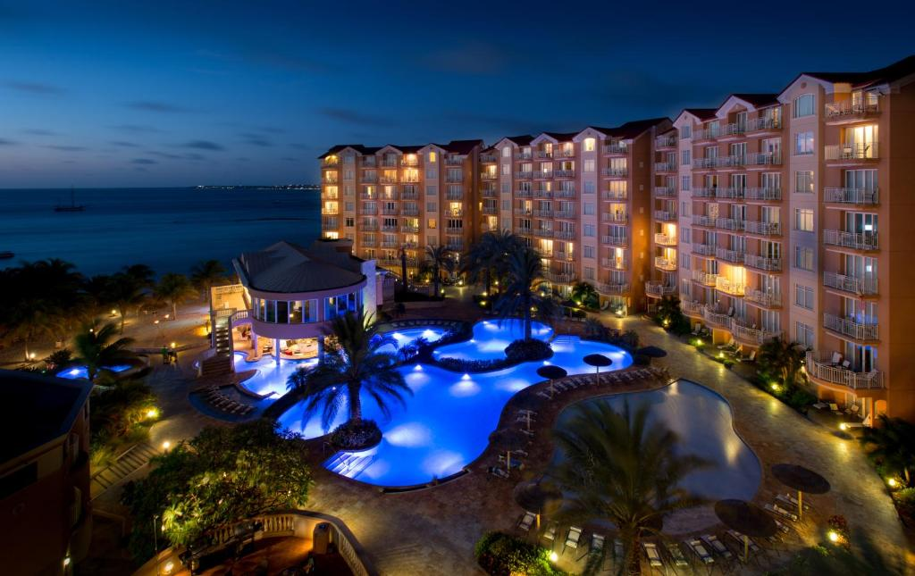 A view of the pool at Divi Aruba Phoenix Beach Resort or nearby