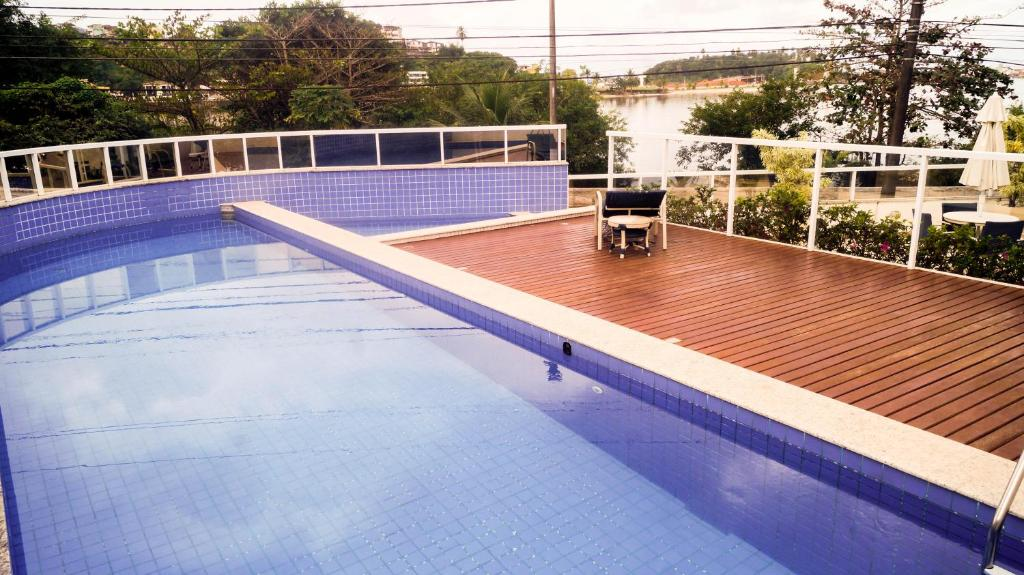 The swimming pool at or near Privileg