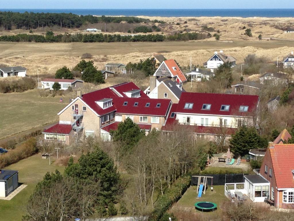 Hotel Bos en Duinzichtの鳥瞰図