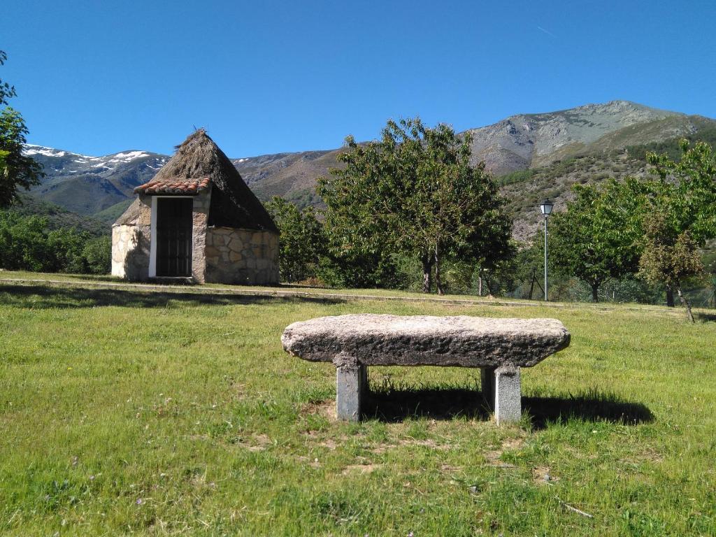 Garður fyrir utan Los Chozos de Gredos