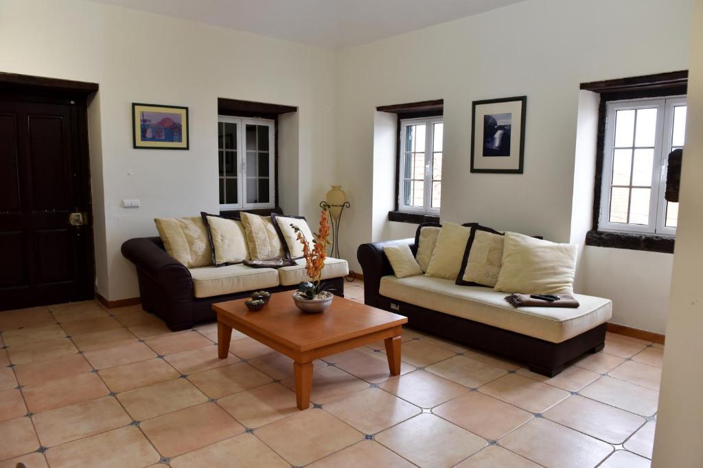 Area soggiorno di Casa da Ladeira