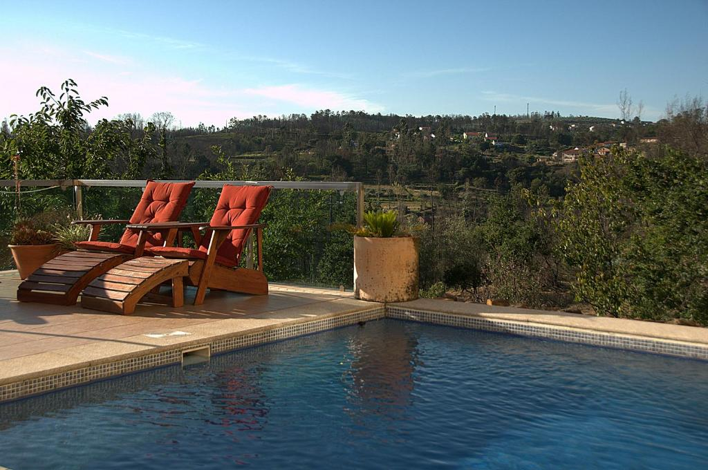 The swimming pool at or near Quinta Campo Bravo