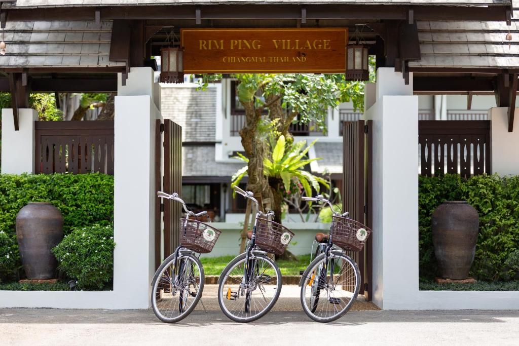 Biking at or in the surroundings of Rimping Village