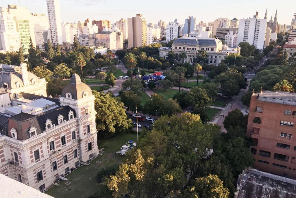 A bird's-eye view of Days Inn & Suites by Wyndham La Plata