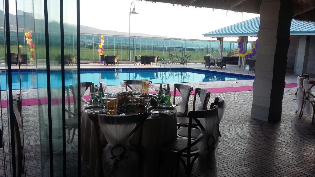 The swimming pool at or near Vanilla Sky Georgia