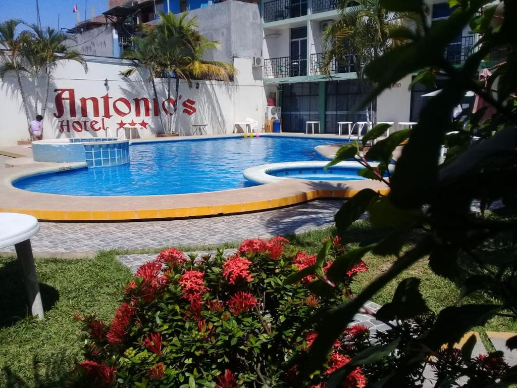 The swimming pool at or close to Hotel Antonio's