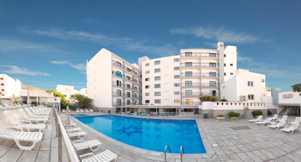 The swimming pool at or near Hotel Brisa