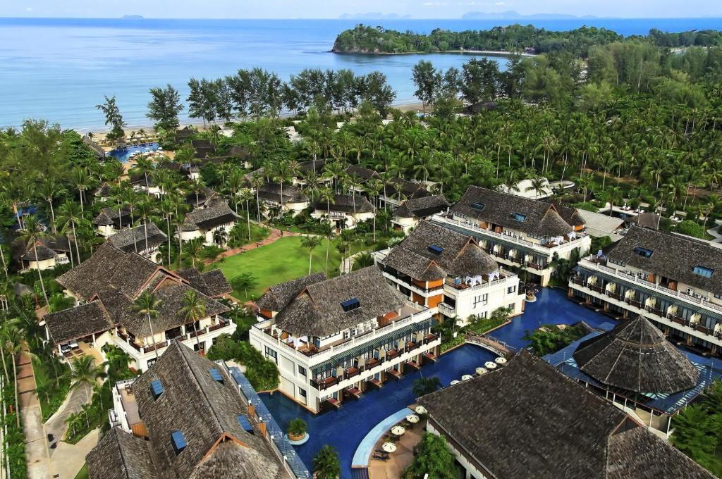 A bird's-eye view of Lanta Cha-da Resort