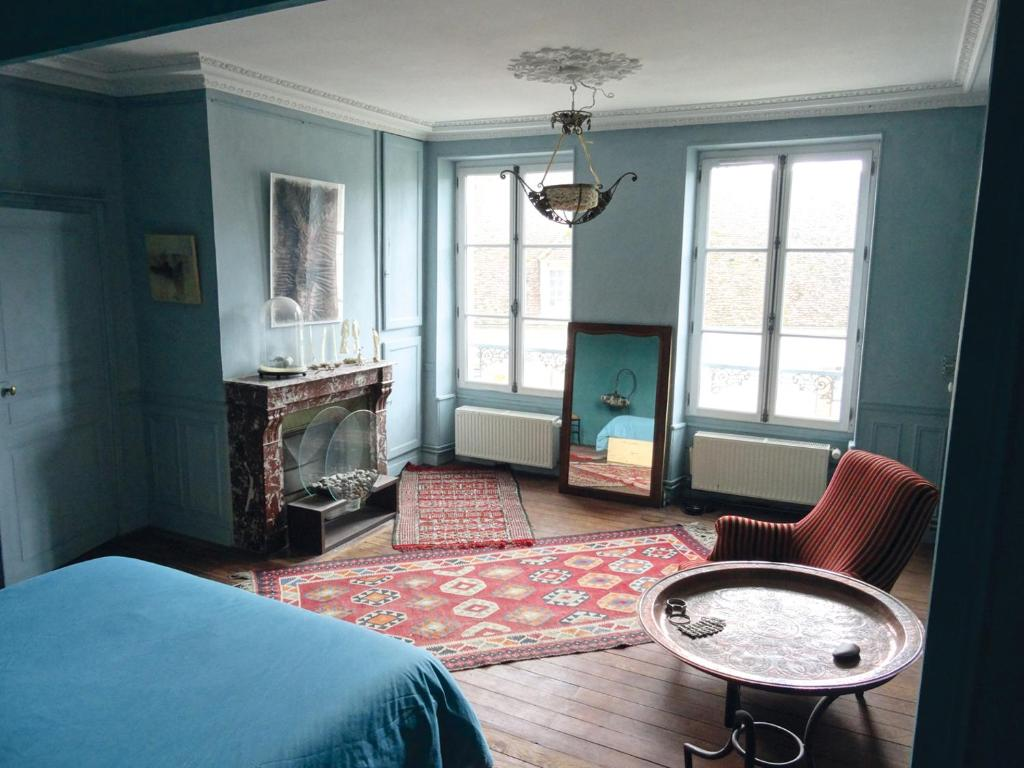 Bed & Breakfast L\'escalier des rêves, la chambre (Frankreich ...