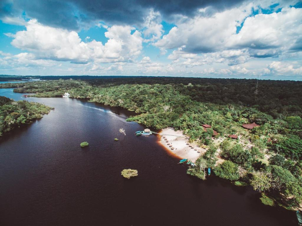 A bird's-eye view of Amazon Ecopark Jungle Lodge