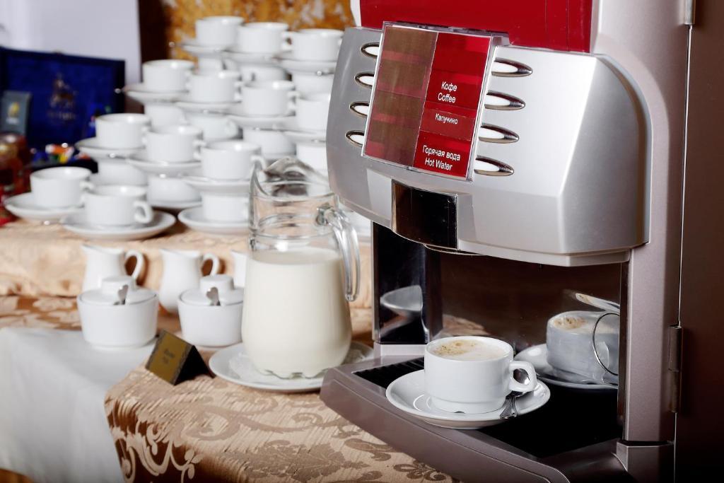 Принадлежности для чая и кофе в Гостиница Садко