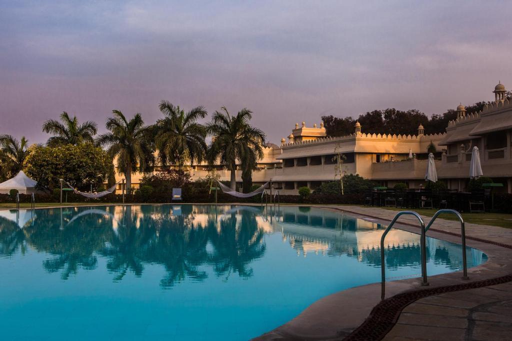 The swimming pool at or near Vivanta Aurangabad, Maharashtra