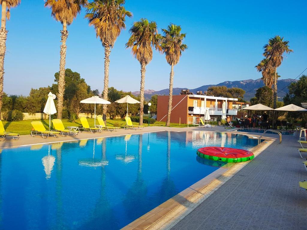 The swimming pool at or near Jonathan Studio Apartments