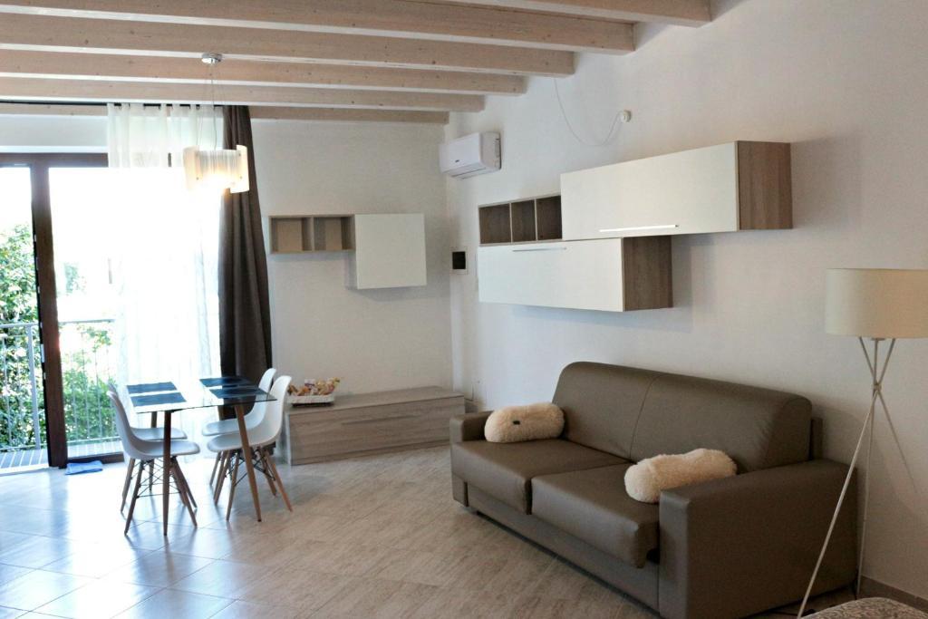 Area soggiorno di Paradeisos Residence Sas
