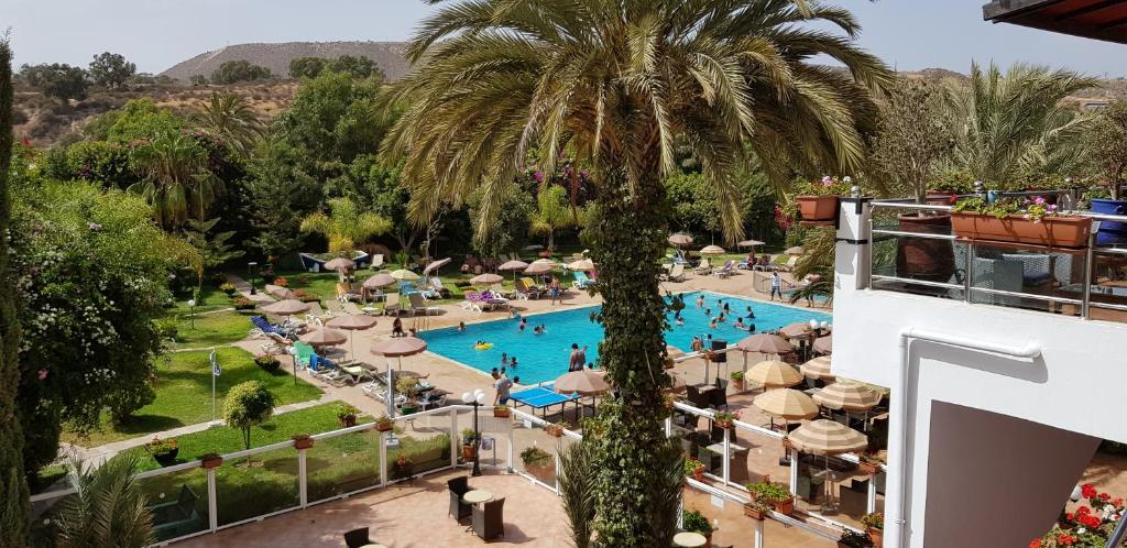 A view of the pool at Hotel Tildi Hotel & Spa or nearby