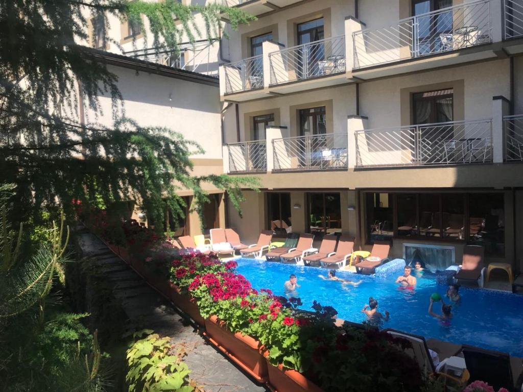 The swimming pool at or near Romantik Spa Hotel