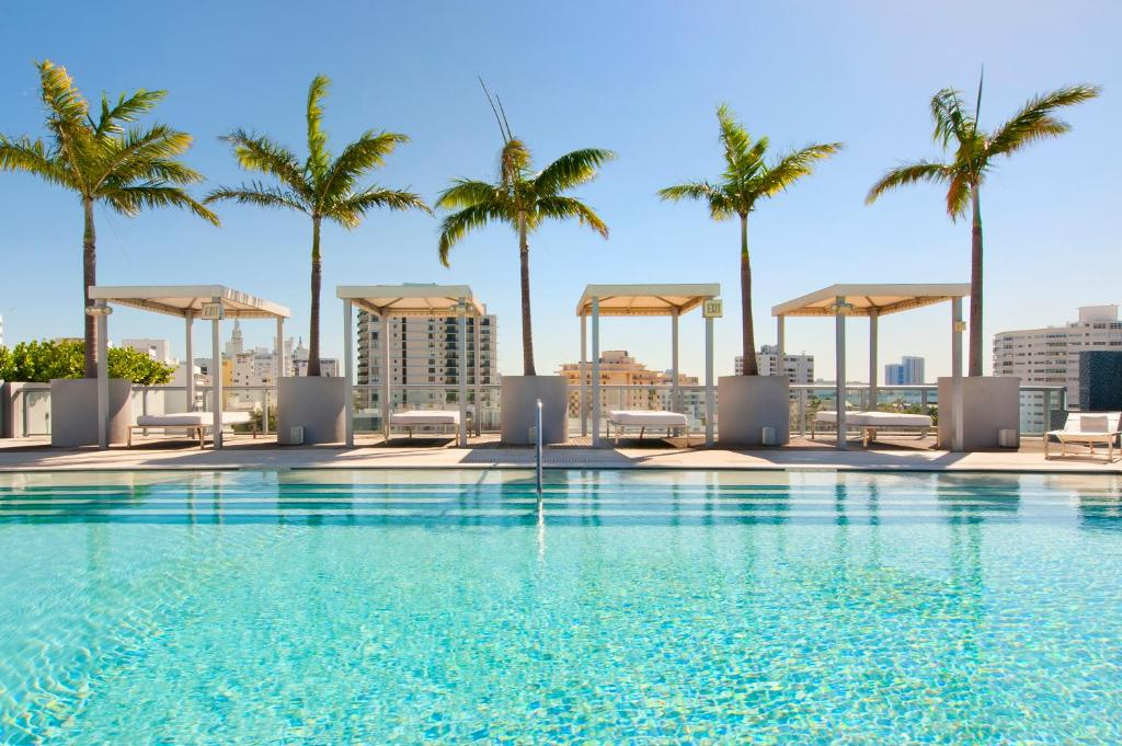 The swimming pool at or near Boulan South Beach