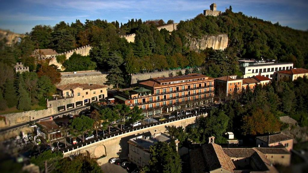 A bird's-eye view of Grand Hotel San Marino
