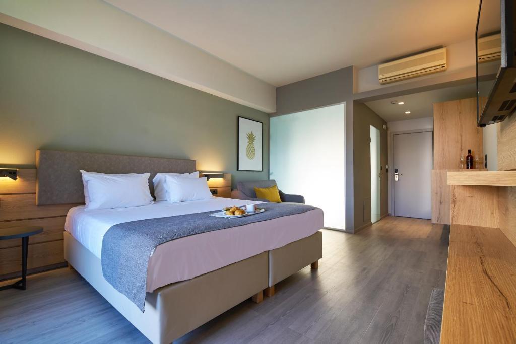 Ένα ή περισσότερα κρεβάτια σε δωμάτιο στο Bella Pais