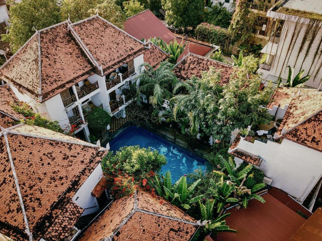 A bird's-eye view of Rambutan Resort – Siem Reap