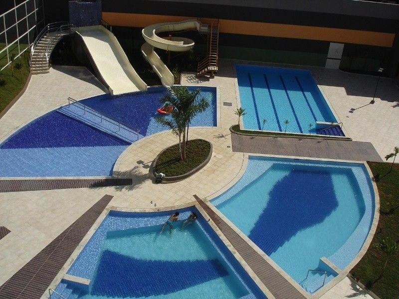 A view of the pool at Veredas do Rio Quente or nearby