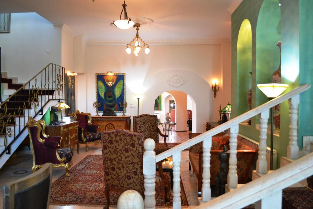 The lobby or reception area at Palacio Domain - Luxurious Boutique Hotel