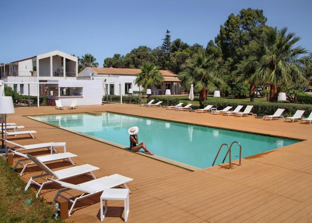 The swimming pool at or near Il Vigneto Resort