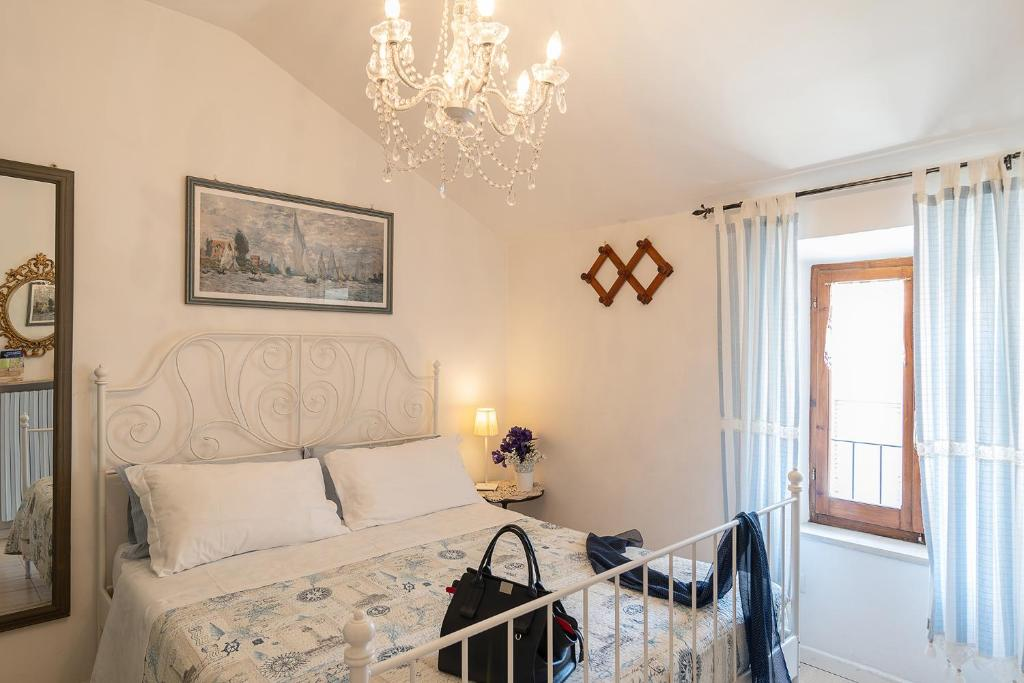 En sittgrupp på Casa nel Borgo Marinaro di Civitanova